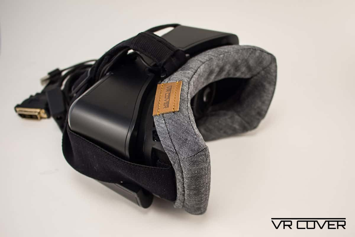 how to put on a vr cover vive