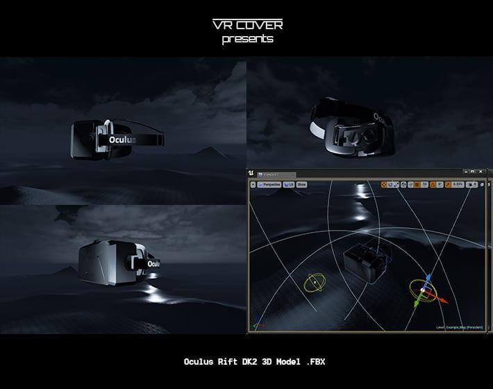 Free Oculus Rift 3D Model