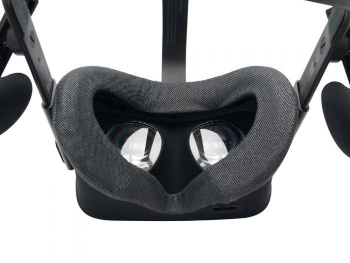 oculus rift vr cover close up