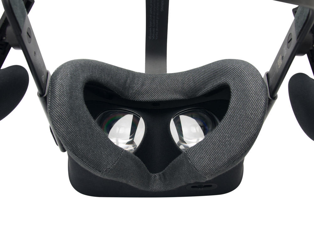 oculus rift vr cover close up