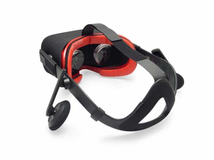 Oculus Rift Red PU Leather Foam