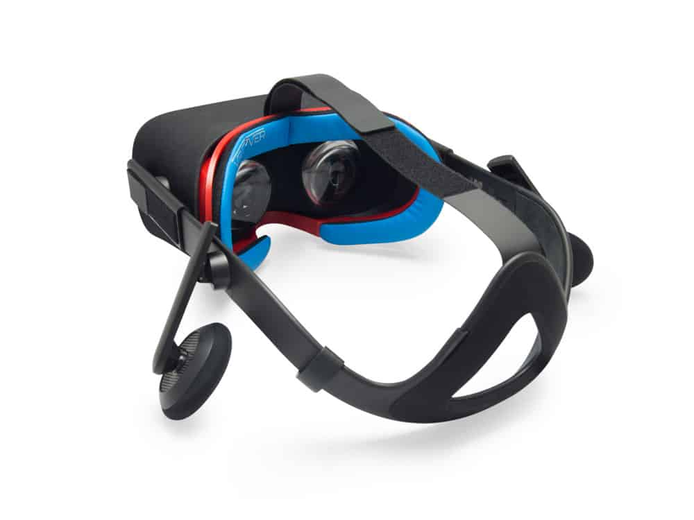 Oculus Rift PU Leather Foam Blue and Red