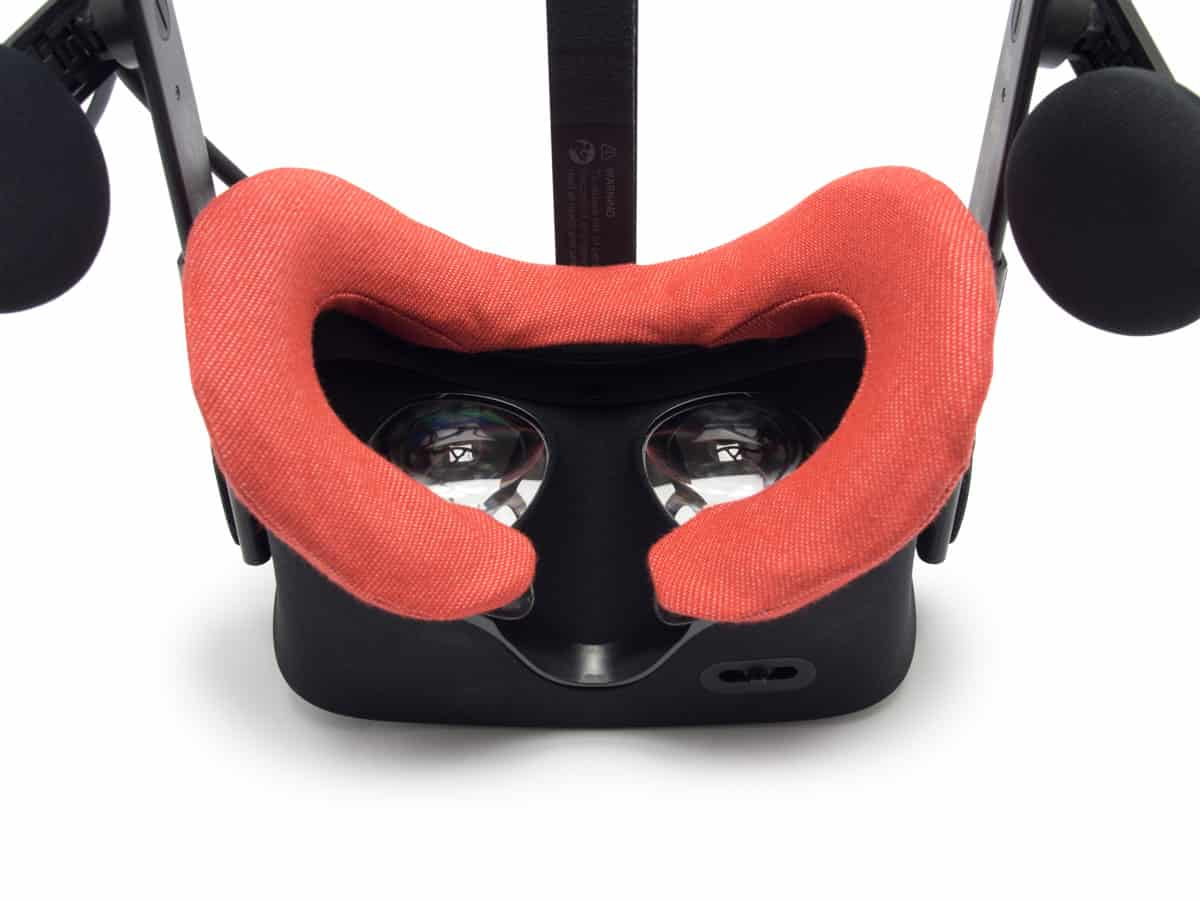 Oculus RIft VR Cover Red