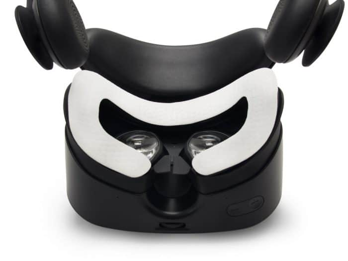Samsung odyssey VR headset with VR Cover disposable hygiene covers