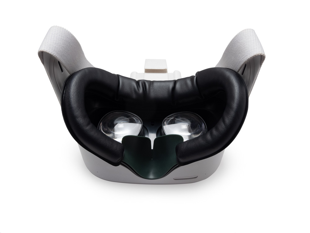 VR Front Face Portective Cover Headset Cover Silicone for Oculus Quest Headset