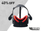 Foam Replacement for Oculus Rift (Red)