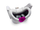 Magenta Facial Interface & Light Grey Foams